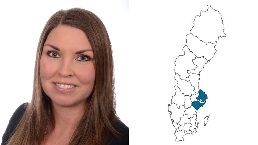 contact person, customer services, profile and map, petra asplund, SE