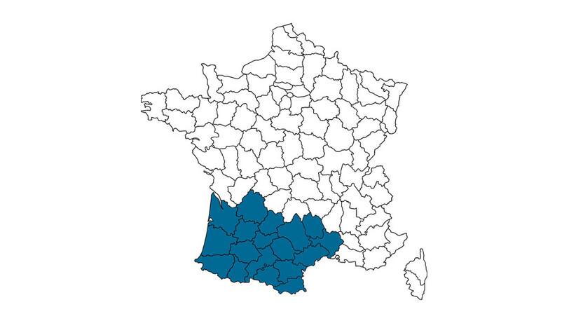 contact person, customer service, profile and map, Cecile Taisne, rockfon, france, FR