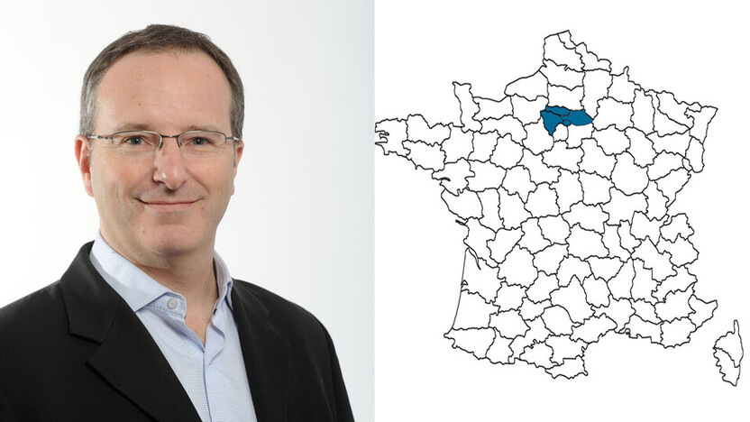 contact person, sales, profile and map, Laurent Mangnez, rockfon, france, FR