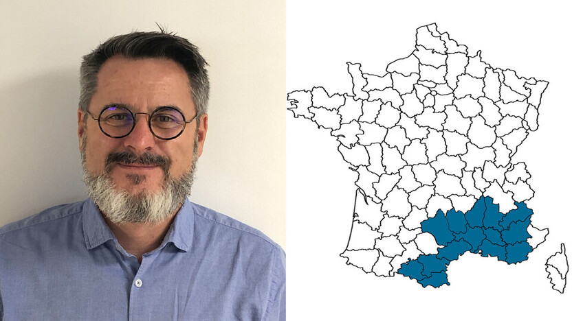 contact person, specification, profile and map, Hervé Taloc, rockfon, france, FR