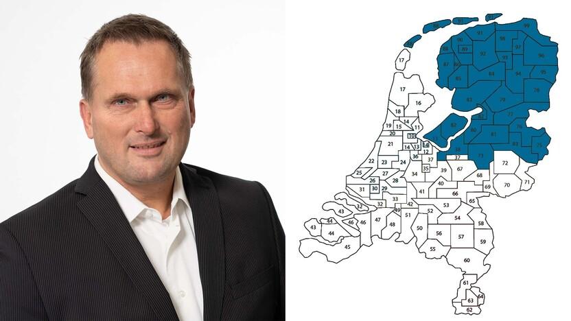 contact person, sales representative, profile and map, Ceico Datema , Rockfon, NL