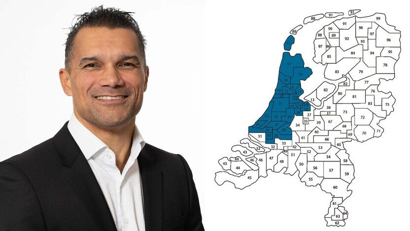 contact person, sales representative, profile and map, Edgar Belonje , Rockfon, NL