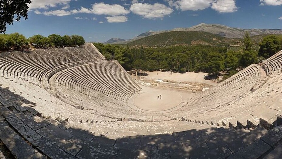 Article photo, Ancient Acoustics, Epidaurus theatre, Greece