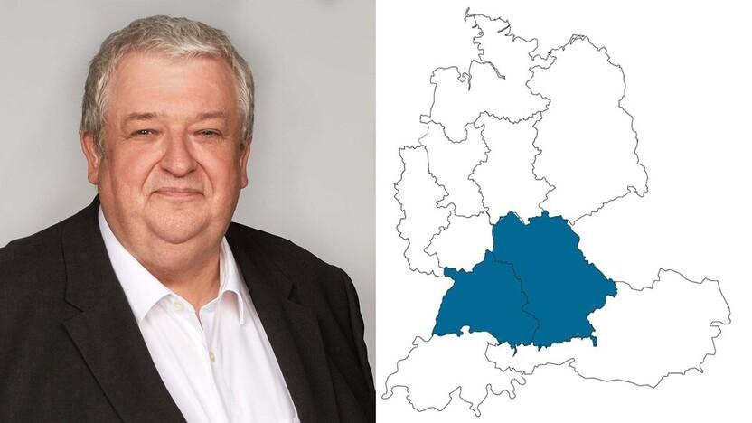 contact person, sales, profile and map, Olaf Schmidt, Rockfon, DE