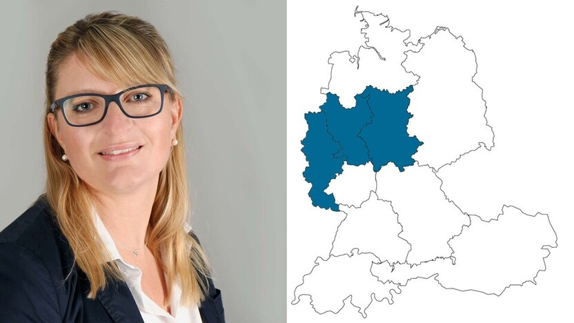 contact person, Customer Service, profile and map, Mareike Swoboda, Rockfon, DE