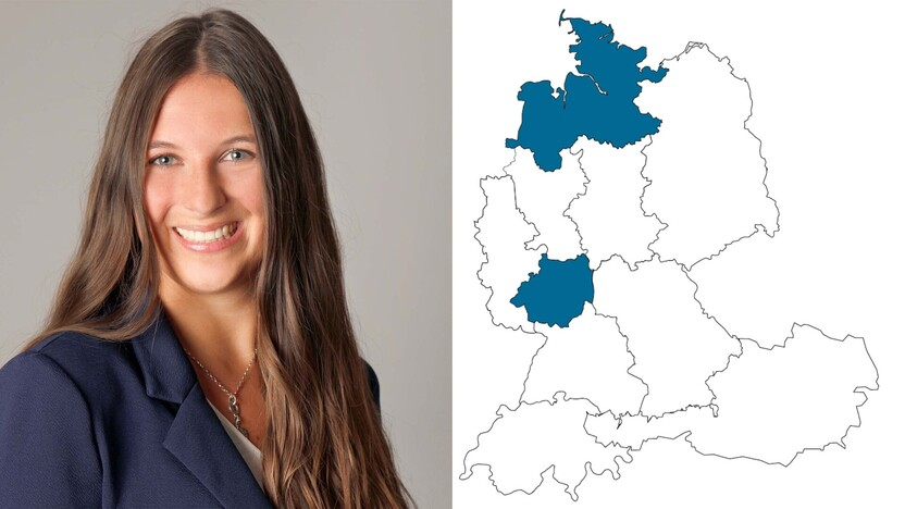 contact person, Customer service, profile and map, Alina Bocholzmann, Rockfon, DE