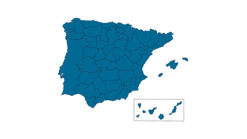 contact person, profile and map, all regions, spain and portugal, ES