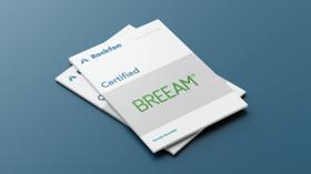 document cover, rockfon, breeam, certified, certification