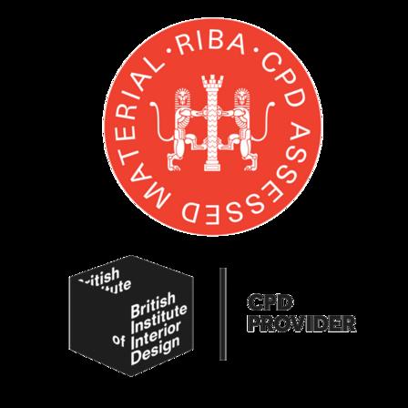 logo, combination, riba, british institute of interior design, biid, combined riba and biid, cpd provider, rockfon, uk
