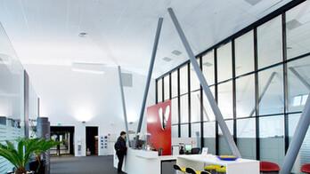Portalbygget Fornebu, Office, Tropic A_edge, Soundstop, 2012