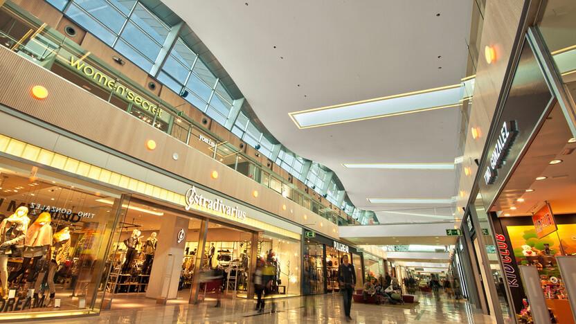 Puerto Venecia shopping retail ROCKFON Mono Acoustic TE 2012