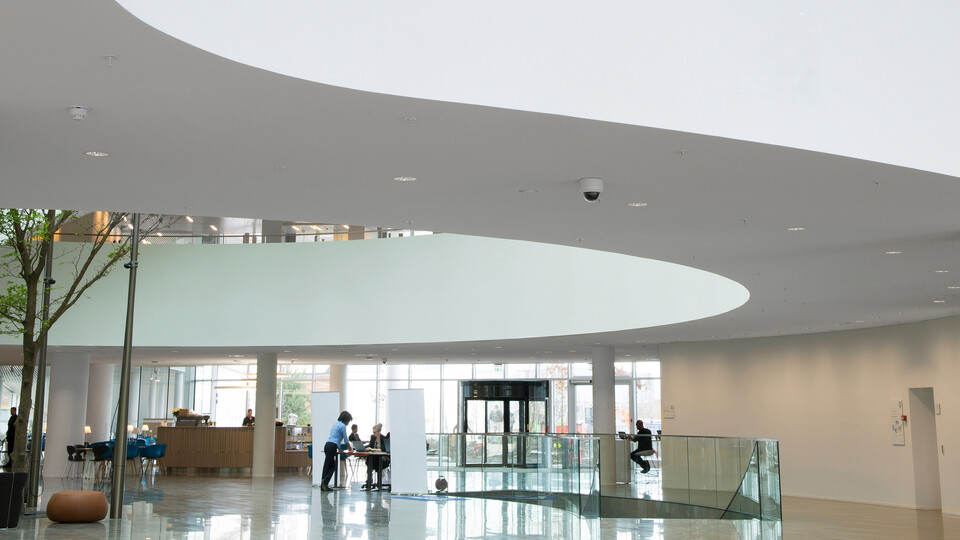 Featured products: Rockfon® Mono® Acoustic, TE Elegant Render, 1200 x 1200
