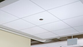 Union League Club One- Pilsen neighborhood, Union League Boys & Girls Clubs, Antunovich Associates, Tandem, Inc., Infinity Perimeter Trim, Rockfon Impact ceiling panels, Chicago Metallic ceiling suspension systems, The Apple Group, Recreation