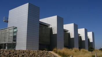 Water and Life Museum, Lehrer & Gangi Design & Build Architects, Orange County Plastering, Rockfon Planostile Metal Panel Ceiling System, Chicago Metallic 1200 Seismic Suspension System