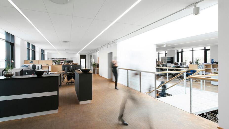 LE 34,Denmark,Ballerup,820 m2,LE 34,Enemærke (E&P),Svend Cristensen,ROCKFON Fusion Krios,H-edge,1800x600x20,1800x572,5x20,White