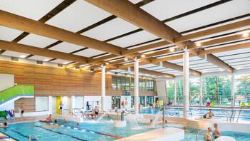Aqua Zdrój,Poland,Wałbrzych,800 m²,ETC Architekci Spółka z o.o. Spółka Komandytowa ,SUF-SYSTEM,Bartosz Makowski,ROCKFON Sonar,D-edge,2400x600,white, swimming pool, leisure