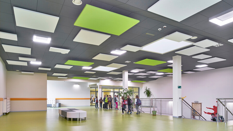 Featured products: Rockfon Color-all®, X, 600 x 600 - Rockfon Eclipse®, 1760 x 1160