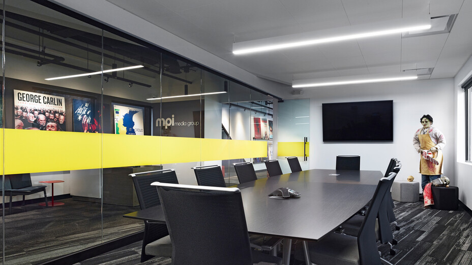 NA, MPI Media Group, office, conference room, 1200, suspension system, grid, Alaska, CDX, 2x2, concealed