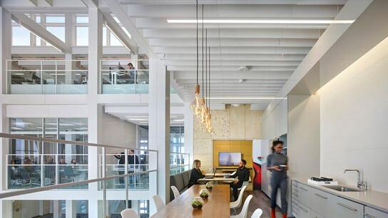 NA, MultiFlex Fibral Baffles 12x48, Kitchen, Office, Gensler Tampa Office, Gensler