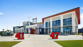 NA, Atlanta Braves CoolToday Park, Exterior of Team Store, Leisure, Fawley Bryant Architecture