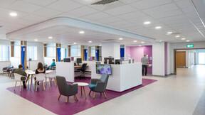 Rockfon at World-class Clatterbridge Cancer Centre – Liverpool. Architect BDP.