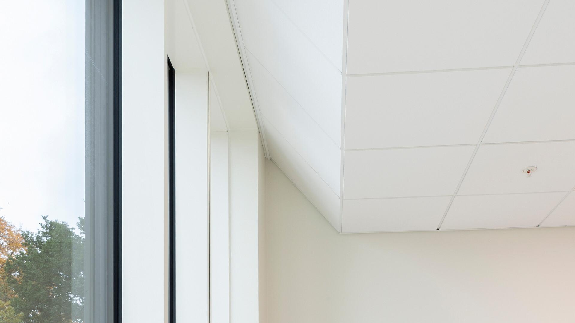 Akustikloft: Rockfon Blanka®, E15, 600 x 600