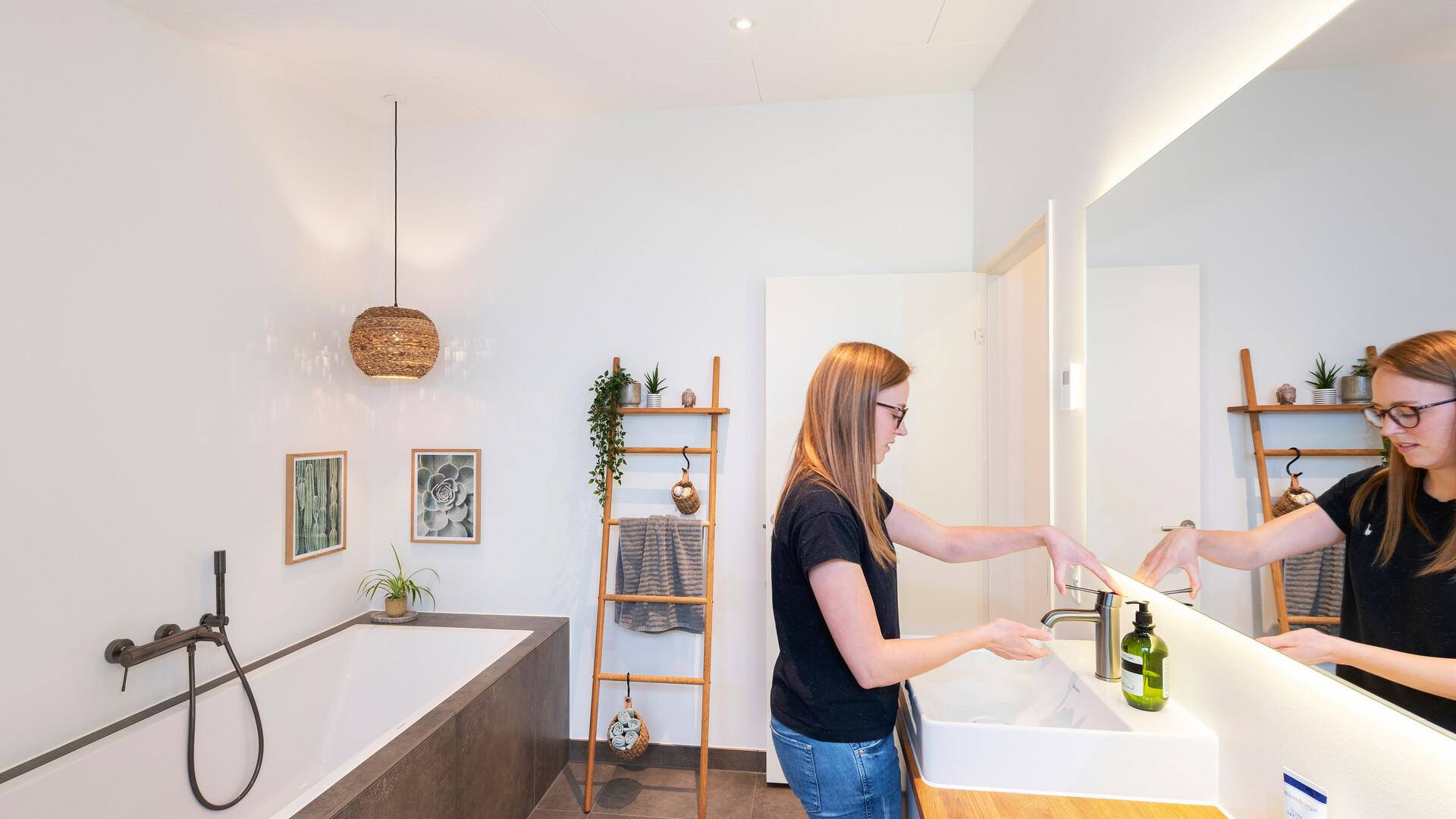 Bathroom in private home Aarhus