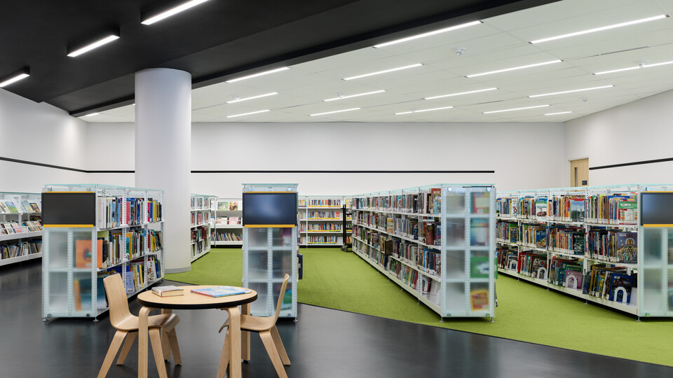 NA, Stanley Milner Library, Teeple Architects, Tropic