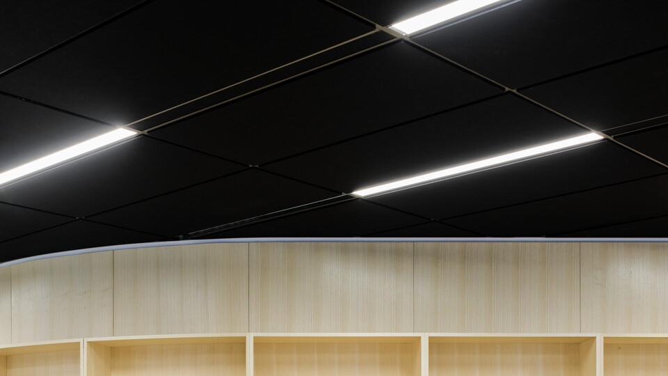 NA, Stanley Milner Library, Teeple Architects, Color-all Black