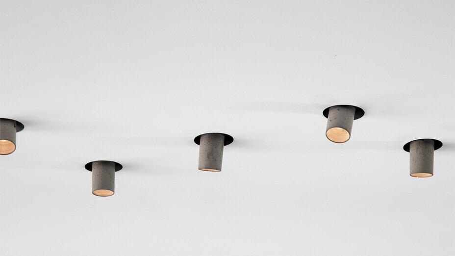 One A, Light fixture, Spots, Rockfon Mono Acoustic
